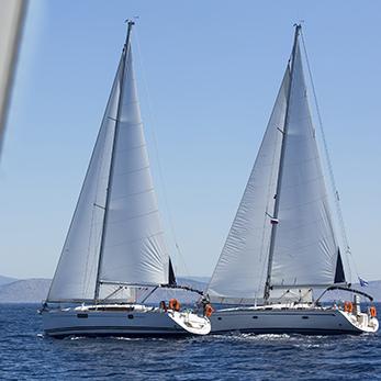 Zeilles Kajuitjacht Middellandse zee