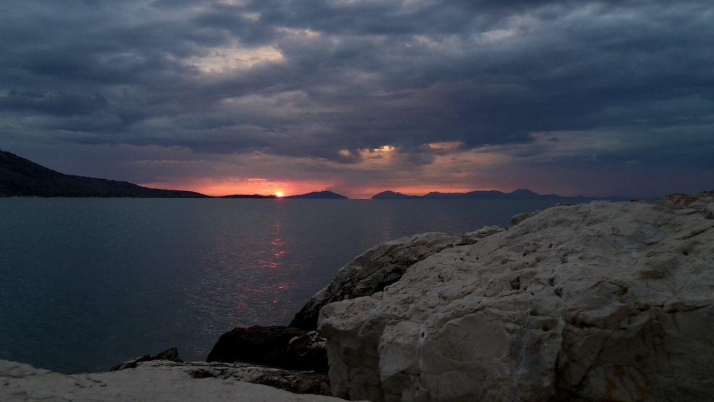 Zeilen in Griekenland